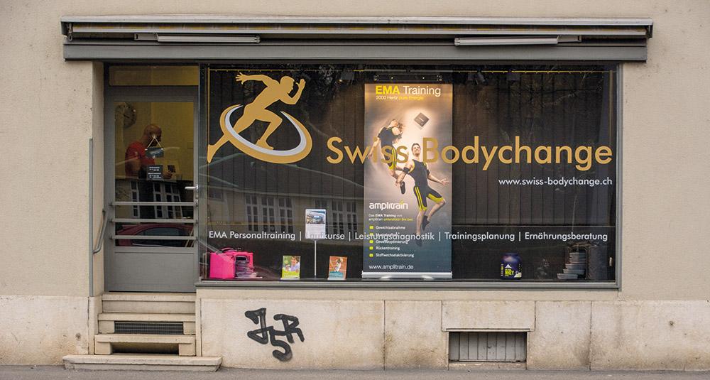 In einem ehemaligen Laden an der Zürcherstrasse 99 hat Swiss Bodychange einen zweckmässigen Fitnessraum eingerichtet.
