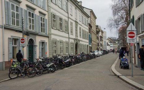 Blick in Richtung Kunstmuseum und Stadtzentrum.
