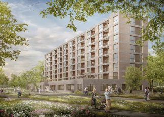 Insgesamt 62 altersgerechte Wohnungen, ergänzt durch ein Dienstleistungsangebot, werden im Bethesda Park entstehen.